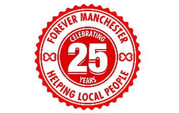 25yr party logo