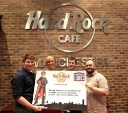 Hard Rock Are Greater Manchester Heroes