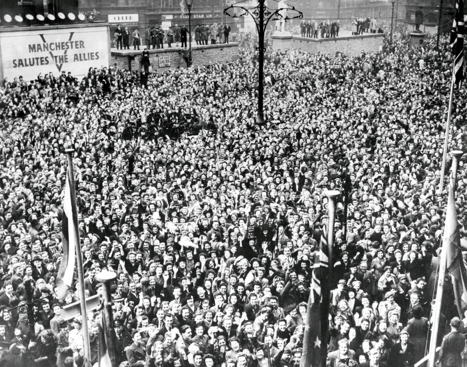 Manchester VE Day