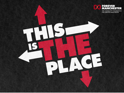 This is the place logo
