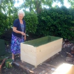 Raised planters created for all abilities to get involved