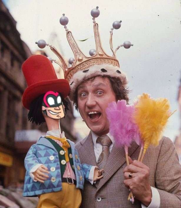 Doddy with the Captain