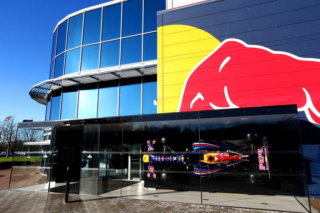 Red Bull Racing Factory, Milton Keynes, England.