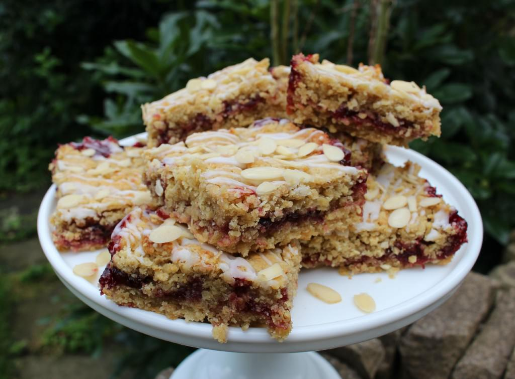 Morello Cherry Flapjacks