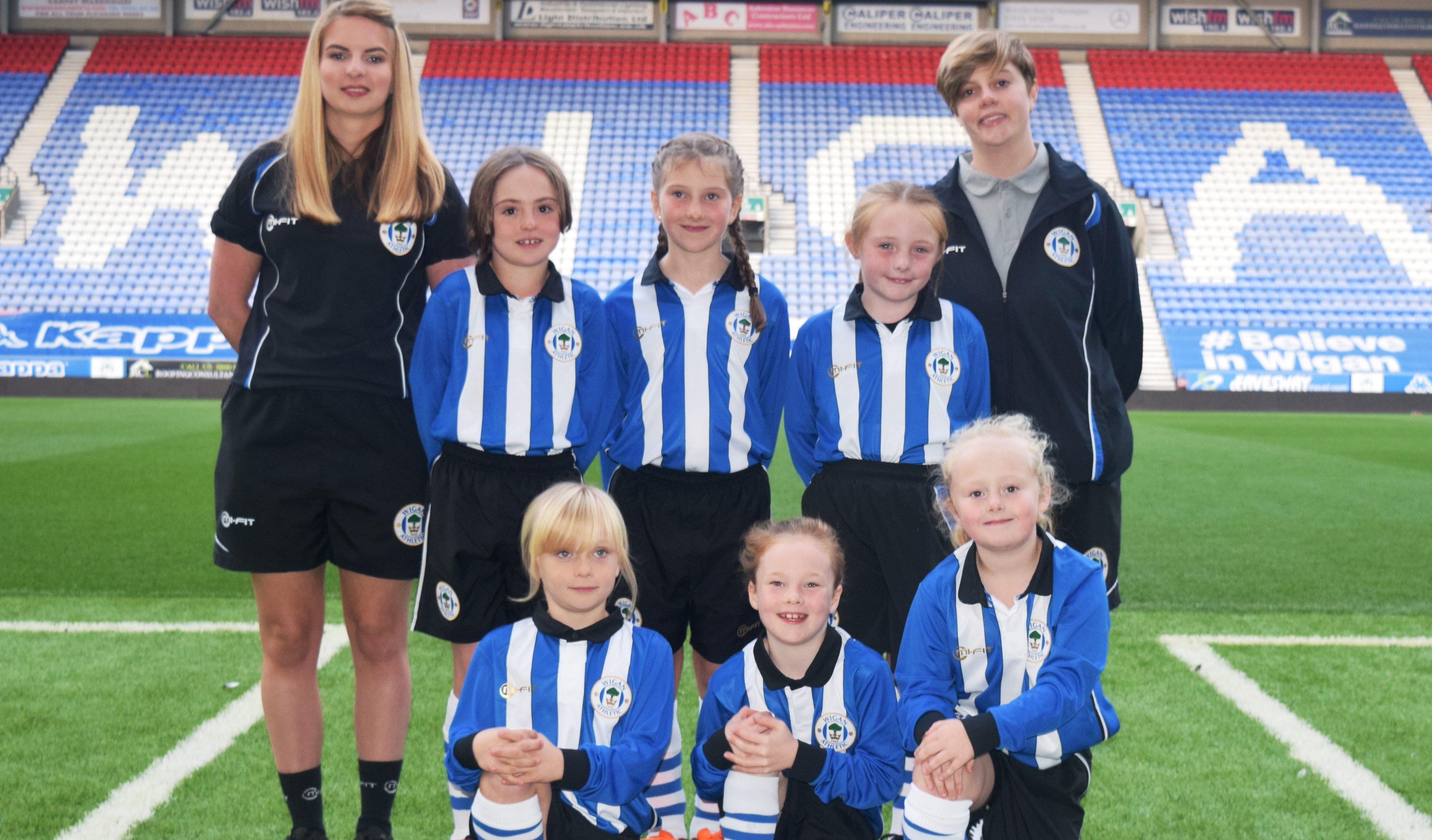 Wigan girls
