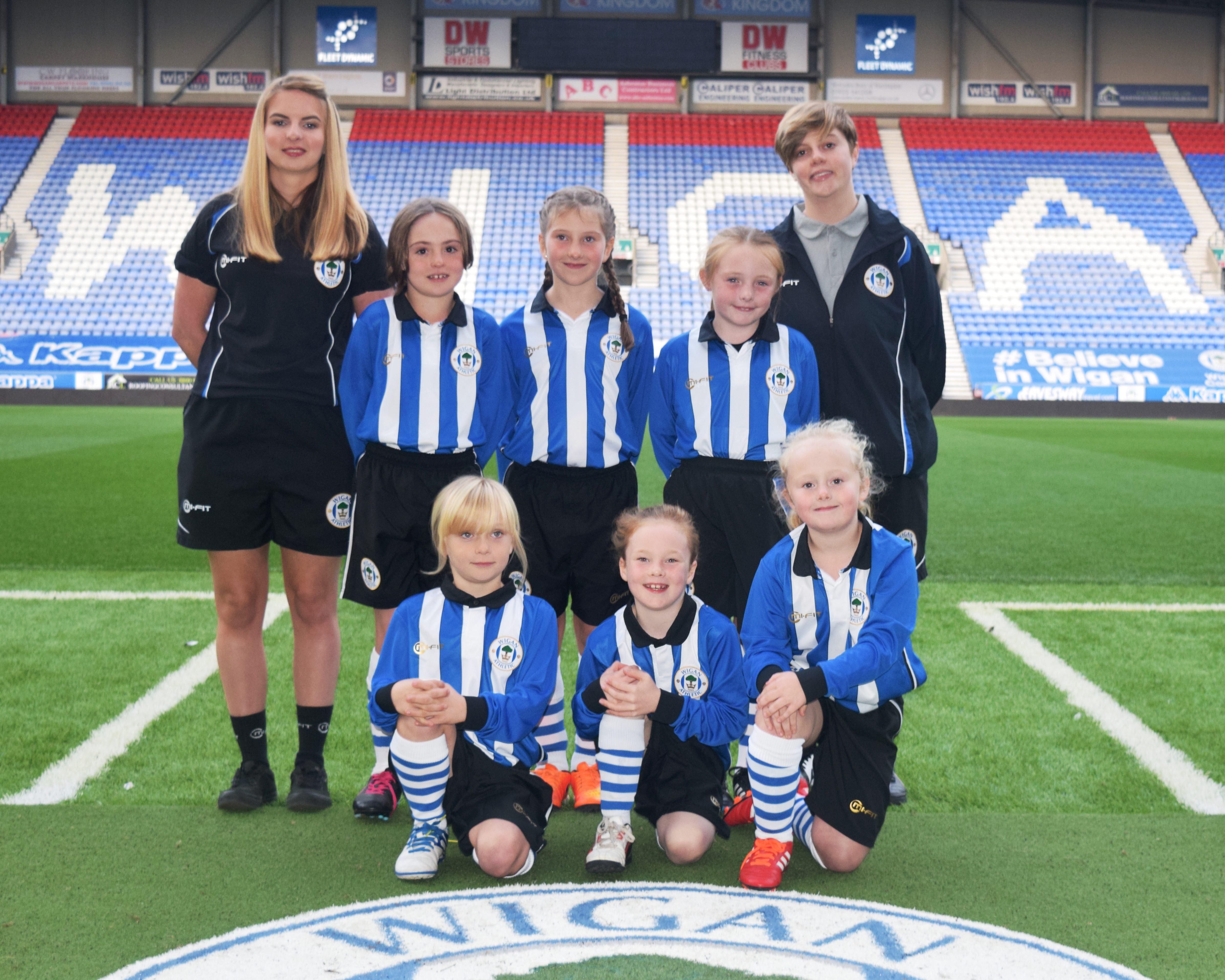 Wigan Ladies U9