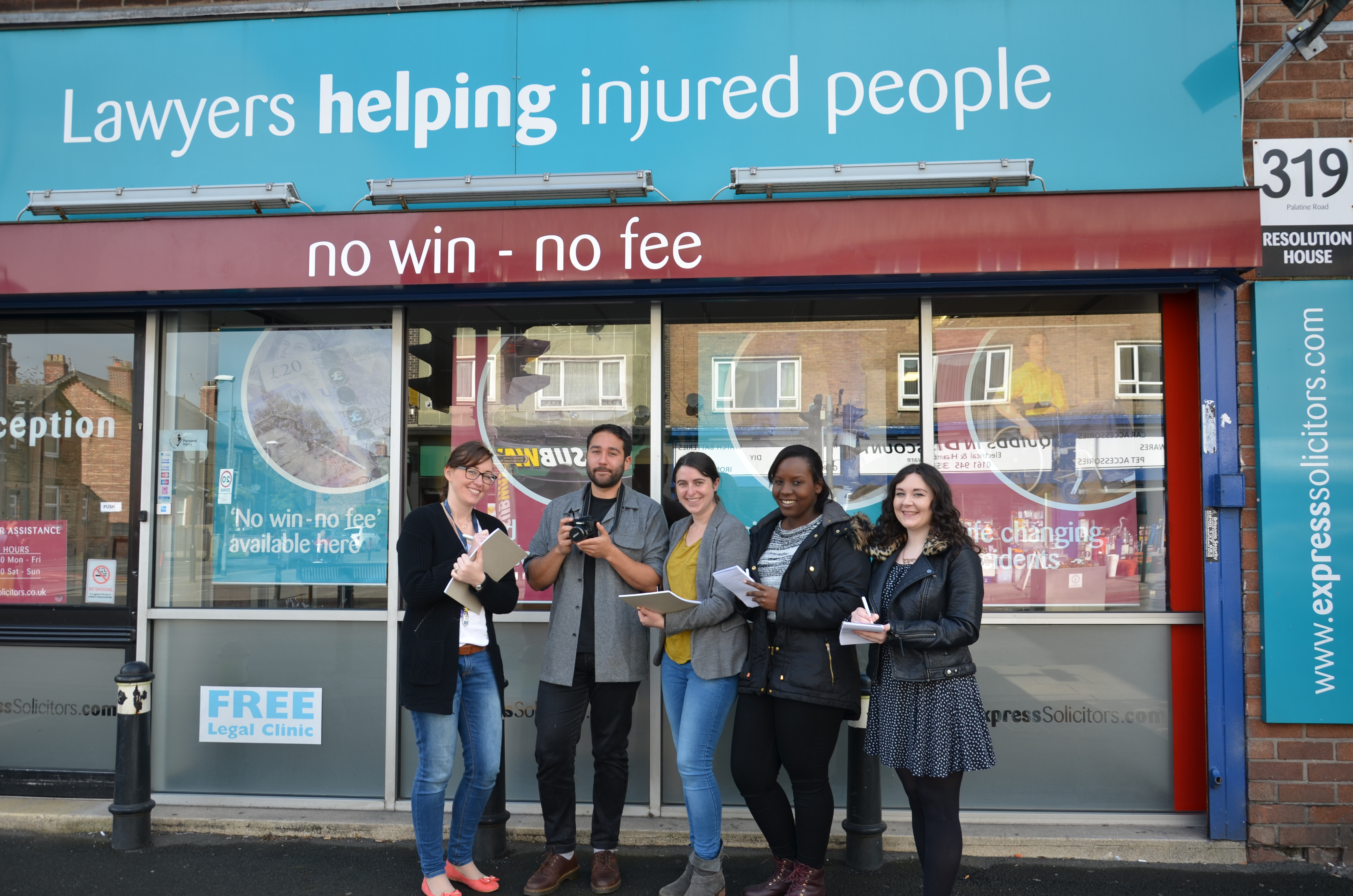 Express Solicitors Community Reporters