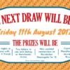 Captain Manchester's Magical Tombola August Draw