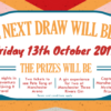 Captain Manchester's Magical Tombola October Draw
