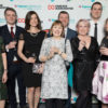 CDL Sponsor Inspirational Community Group Award at Birthday Party