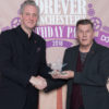 Tony Walsh receives the Forever Manchester Forever Award