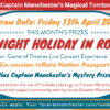 Captain Manchester's Magical Tombola – Friday 13th April