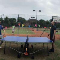 Freeman Fisher's charity tennis tournament raises over £500.
