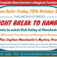 Captain Manchester's Magical Tombola – 12th October