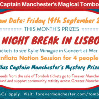 Captain Manchester's Magical Tombola – 14th September