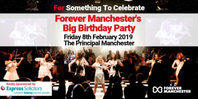 Forever Manchester Birthday Party – Tickets