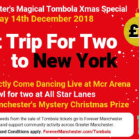 Captain Manchester's Magical Tombola – 14th December