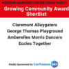 Growing Community Award – Shortlist