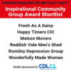 Inspirational Community Group Award – Shortlist