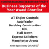 Business Supporter Of The Year Award – Shortlist