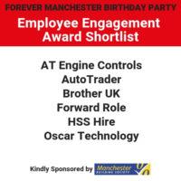 Employee Engagement Award – Shortlist