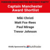 Captain Manchester Award – Shortlist