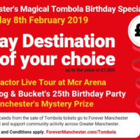 Captain Manchester's Magical Tombola – 8th February