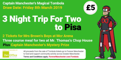 Captain Manchester's Magical Tombola – 8th March