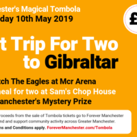 Captain Manchester's Magical Tombola – 10th May 2019
