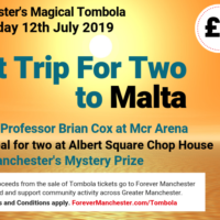 Captain Manchester's Magical Tombola – 12th July 2019