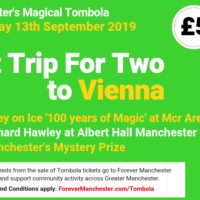 Captain Manchester's Magical Tombola – 13th September 2019