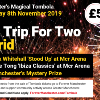 Captain Manchester's Magical Tombola – 8th November 2019