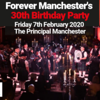 Only 3 sponsorship opportunities remaining for Forever Manchester's 30th Birthday Party