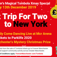 Captain Manchester's Magical Tombola Christmas Special – 13th December
