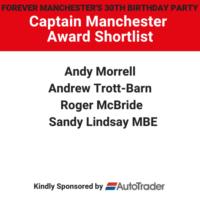 Captain Manchester Award 2020 – Shortlist