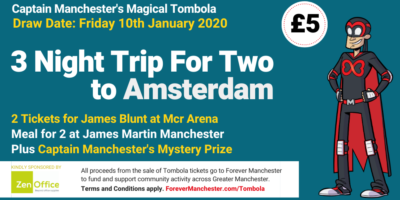 Captain Manchester's Magical Tombola – 10th January 2020