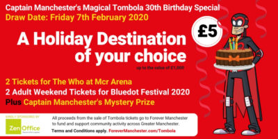 Captain Manchester's Magical Tombola – 7th February 2020