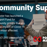 Forever Manchester launch Community Support Fund