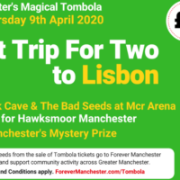 Important news  about Captain Manchester's Magical Tombola