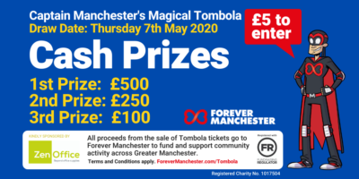 Captain Manchester's Magical Tombola – 7th May 2020
