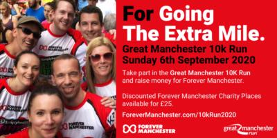 Great Manchester 10k Run Rearranged For Sunday 6th September 2020