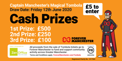 Captain Manchester's Magical Tombola – 12th June 2020