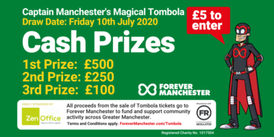 Captain Manchester's Magical Tombola – 10th July 2020