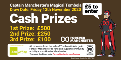 Captain Manchester's Magical Tombola – 13th November 2020
