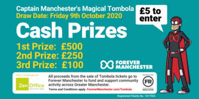 Captain Manchester's Magical Tombola – 9th October 2020