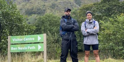 Oscar Recruitment's Antoni and Sophie Take On The Three Peaks Challenge