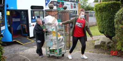 Stagecoach Manchester Help To Deliver Supplies to Five Local Foodbanks