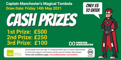 Captain Manchester's Magical Tombola – Friday 14th May 2021