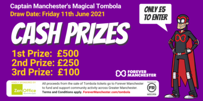 Captain Manchester's Magical Tombola – Friday 11th June 2021
