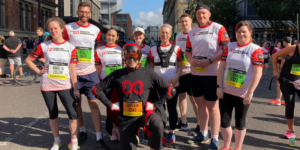 Forever Manchester 10K with Captain Manchester